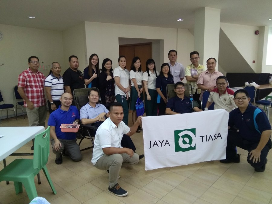 Jaya Tiasa holds blood donation drive on 4th October 2018