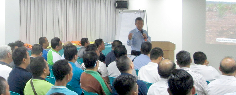 "Jaya Tiasa conducts ""Effective Fertilizer Management On Peat"" training for its staffs"